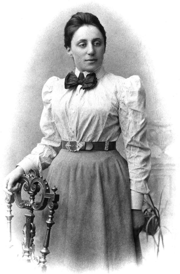 Ама́лия Э́мми Нётер (нем. Amalie Emmy Noether; 23 марта 1882, Эрланген, Германия — 14 апреля 1935, Брин-Мор, Пенсильвания, США)